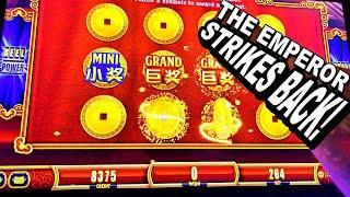 TIAN CI JIN LU * THE EMPEROR STRIKES BACK!!! - New Las Vegas Casino Slots Slot Machine Bonus