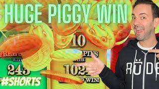 ⋆ Slots ⋆ Rakin' Bacon HUGE WIN Bonus #shorts