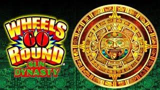 SO MANY BONUSES on WHEELS GO ROUND SUN DYNASTY SLOT POKIE + ANCIENT WHEEL - PECHANGA CASINO
