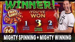 • Mighty SPINNING + • Mighty WINNING • Brian Christopher Slots