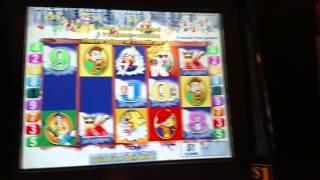 $9 Bet Aristocrat White Water Slot Machine bonus