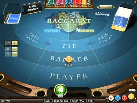 Baccarat - The Virtual Games