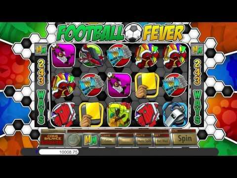Free Football Fever slot machine by Saucify gameplay ★ SlotsUp