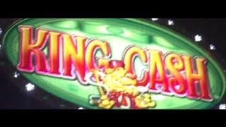 King Cash Slot Machine-High Limit-Double or Nothing