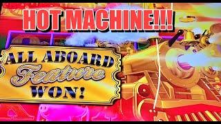 ALL ABOARD SLOT: HOT MACHINE, BIG WINS!