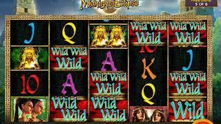 MIDNIGHT ECLIPSE Video Slot Casino Game with a FREE SPIN BONUS