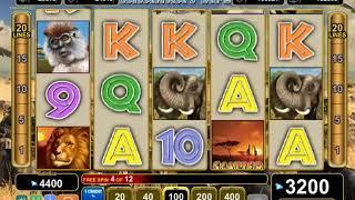 Savanna's Life slots - 5,200 win!
