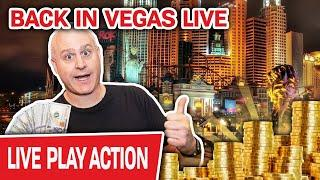 ⋆ Slots ⋆ Back in Las Vegas LIVE ⋆ Slots ⋆ High-Limit Slot Machines Are ALL THAT I PLAY