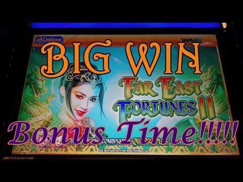 ~TBT~ *BIG WIN* WMS Far East Fortunes II   25 Games  Slot Machine Bonus