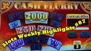Slots Weekly Highlights #87 For you who are busy•赤富士スロット, カリフォルニア カジノ, エンジョイスロット!
