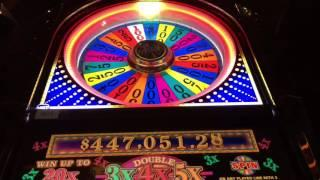 Wheel of Fortune Slot Machine ~ $1 ~ BIG WHEEL SPINS!!! ~ KEWADIN CASINO! • DJ BIZICK'S SLOT CHANNEL