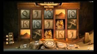 Rabcat Gaming River of Riches - Ancient Egyptian Video Slot