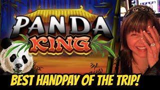 OUR BEST HANDPAY OF THE TRIP ON PANDA KING!