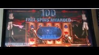 ** 100 FREE SPIN BONUS ** WMS GREAT EAGLE RETURNS $4 SUPER BIG WIN!!!