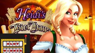 Heidi's Bier Haus Slot Machine Win! Rockin the Bier Haus - Say hello to Billys Living Room