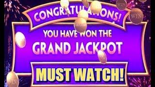 • JACKPOT HANDPAY • WONDER 4 BUFFALO GOLD • GRAND JACKPOT •