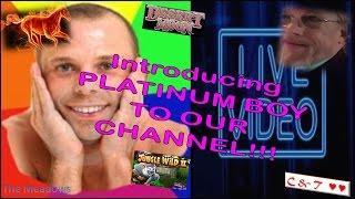 LIVE PLAY on FREE PLAY w/Platinum Boy & LIVE Slot Machine Bonus ~ LETS MIX IT UP!!•