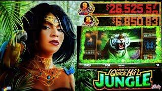 •MAX BET• •JUNGLE QUICK HITS• BIG WIN! LOTS OF FREE SPINS!!