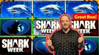 FIRST LOOK• SHARK WEEK• Discovery Channel Slot Live Play | Bonuses