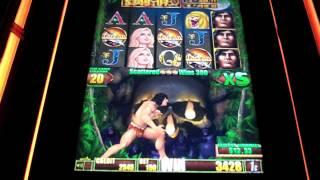 Aristocrat - Tarzan Slot Machine Bonus
