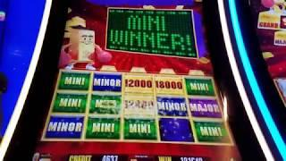 ***JACKPOT HANDPAY!!*** MAJOR PROGRESSIVE! ON Gold Bonanza and Big Wins Lightning Link