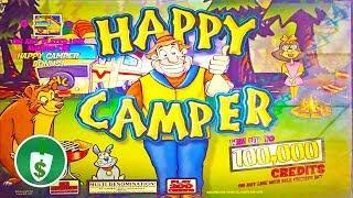 Happy Camper slot machine, 2 features