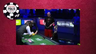 WSOP $50k Poker Player's Championship Final Hand & Interview
