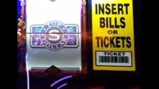HIGH LIMIT Top Dollar Slots w/Bonus