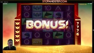 Slots Bonuses Compilation Mid Stakes Dead or Alive - Book of the Dead - Phoenix Sun