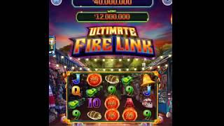 """ULTIMATE FIRE LINK Video Slot Casino Game with a """"HUGE WIN"""" FREE LINK BONUS"""