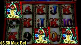 Dragon Rising Slot Machine BONUS - $5.50 Max Bet | GREAT SESSION | Live Slot Play w/NG Slot