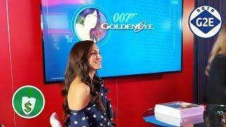 #G2E2018 SG - James Bond Golden Eye slot machine