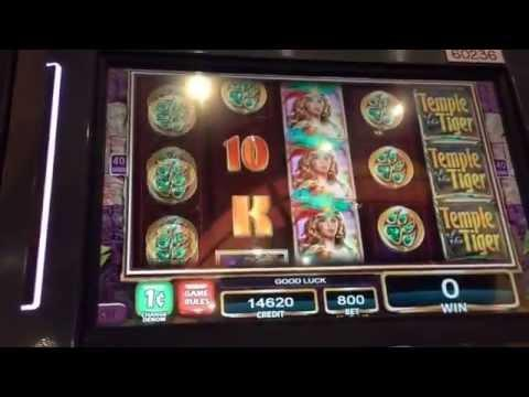 Temple of the Tiger Quick Live Play $8 Max Bet with Bonuses and Big Wins ** SLOT LOVER **