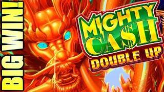⋆ Slots ⋆BIG WIN!⋆ Slots ⋆ MIGHTY CASH DOUBLE UP & TREASURE BOX ⋆ Slots ⋆ Slot Machine Bonus (Aristocrat)