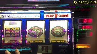 "•LIVE !! MEGA BIG WIN•Free Play $120  Triple Double Diamond $1 Slot ""Continuous BIG WIN"" AkafujiSlot"