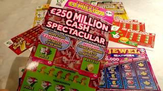 Scratchcards....part 1.....  Part 2 will be on Later this evening..It a Hum Dinger?