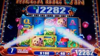 Far East Fortunes II Slot Machine Bonus + Retrigger - Free Games w/ Wild Multipliers - MEGA BIG WIN
