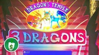 •️ NEW -  Dragon's Temple 3 Dragons slot machine, bonus