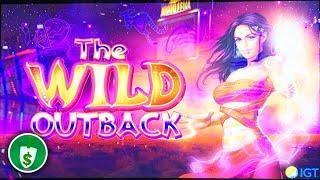 The Wild Outback WA VLT slot machine