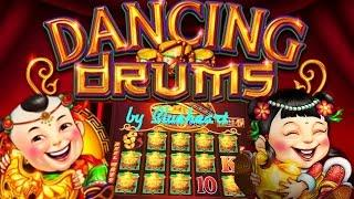 •BETTER THAN 88 FORTUNES?• DANCING DRUMS slot machine LIVE PLAY, BONUSES and BIG WINS!