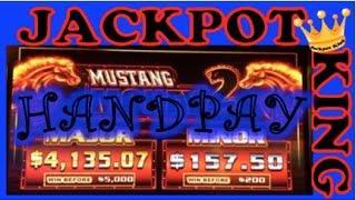 MUSTANG MONEY 2 **BONUS SPINS** JACKPOT HANDPAY!!