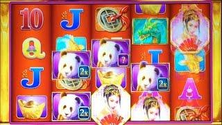 Far East Fortunes Deluxe slot machine, Live Play & Bonus
