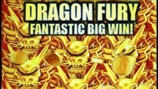 •NEW SLOT! FANTASTIC BIG WIN!!• DRAGON FURY (Konami) | Slot Machine Bonus