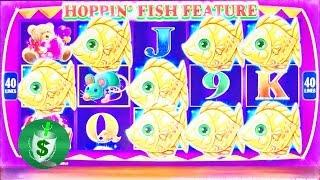++NEW Hoppin' Fish slot machine, 3 sessions