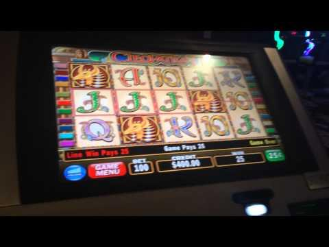 Cleopatra II live play with Dvandentop and Hyeroller $25 bet high limit slot play