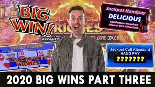 ★ Slots ★ BIG WINS of 2020 Part 3 ★ Slots ★ HGH LIMIT Jackpots Galore! ★ Slots ★ HANDPAYS on Cleo, D