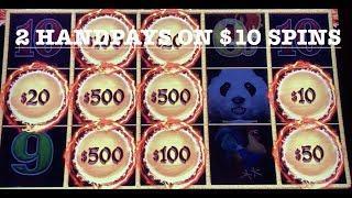 DRAGON LINK PANDA MAGIC ~ (2) HANDPAY JACKPOTS ON $10 SPINS