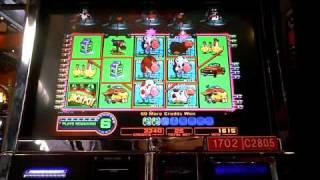 Planet Moolah nice nickel slot machine bonus win