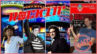 • NEW Rockin' Casino Space in 360• • San Manuel Casino • MOST Slots in California!