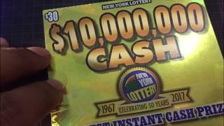 $30 NY Robbery scratch off and upcoming challenge news
